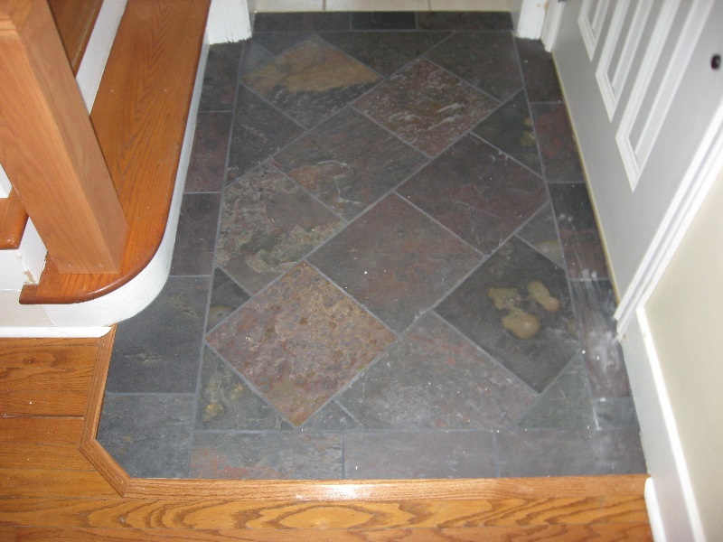 Ceramic tile porcelain marble granite slate for Tile for entry foyer
